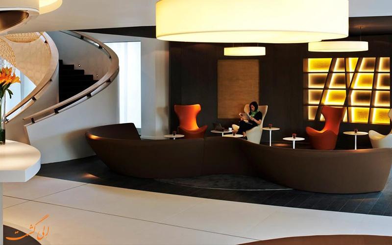 هتل پولمن بروکسل- لابی