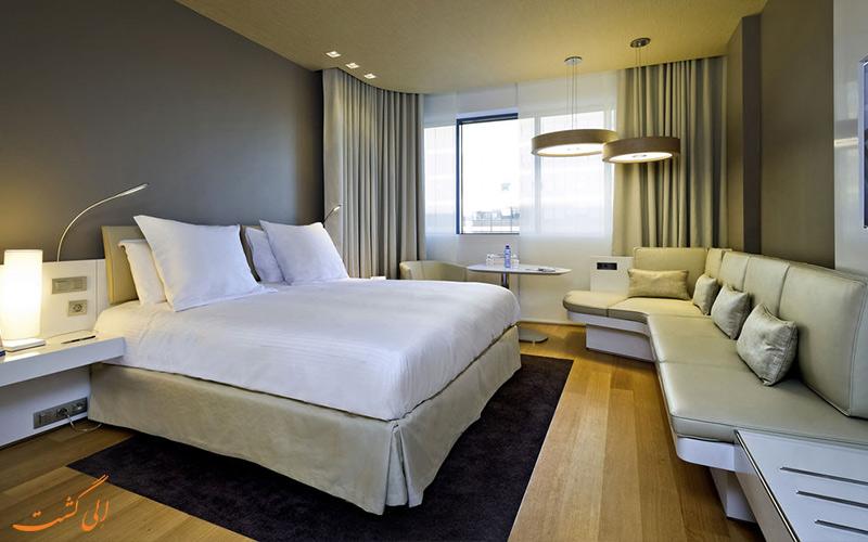 انواع اتاق های هتل پولمن بروکسل
