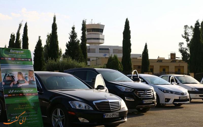 راه های دسترسی به فرودگاه بین المللی شیراز