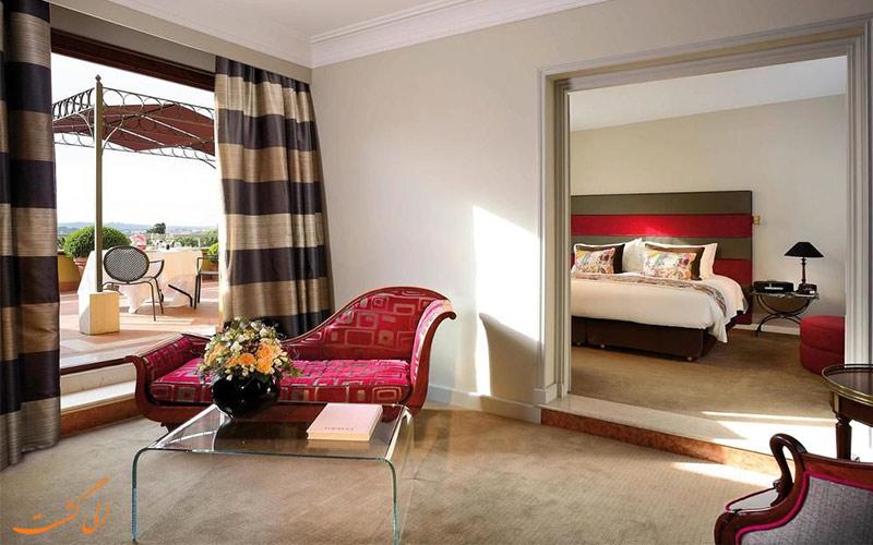 انواع اتاق های هتل سوفیتل رم