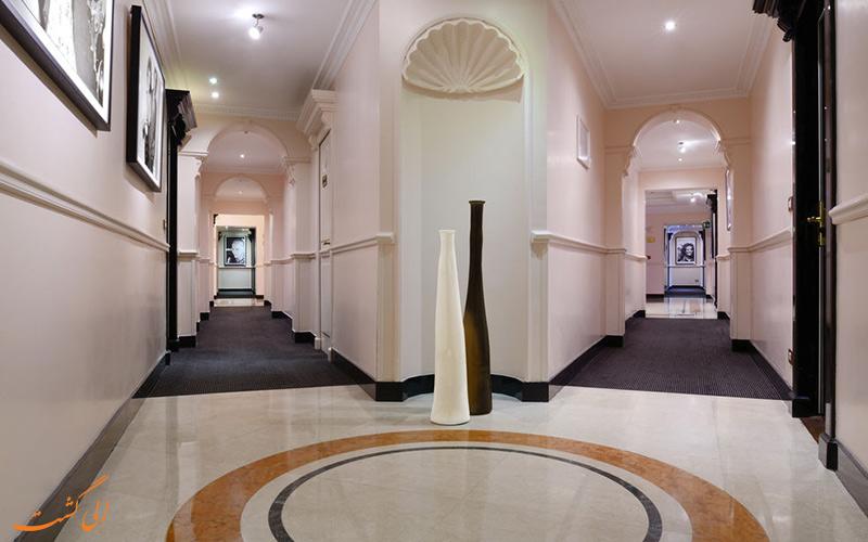 خدمات رفاهی هتل سوفیتل رم - راهروها