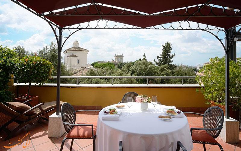 امکانات تفریحی هتل سوفیتل رم- تراس