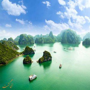 خلیج هالونگ در ویتنام