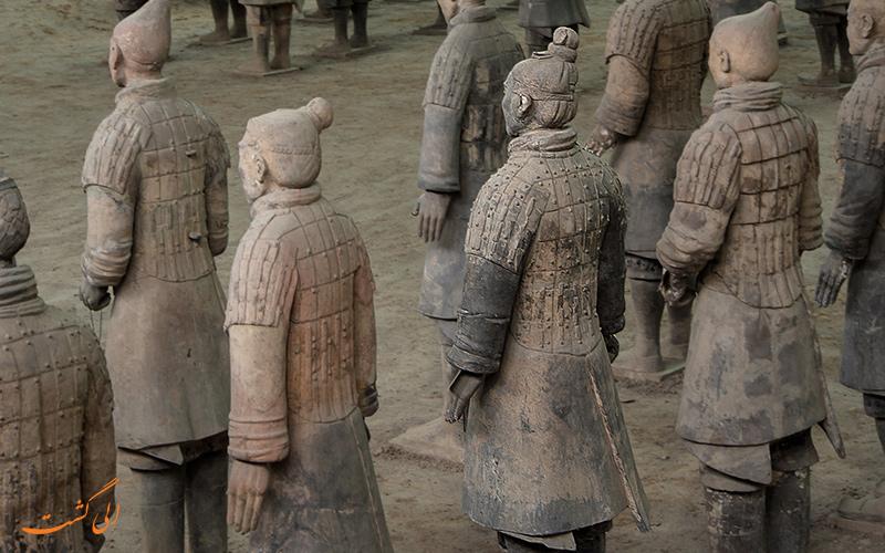 عکس ارتش تراکوتا چین