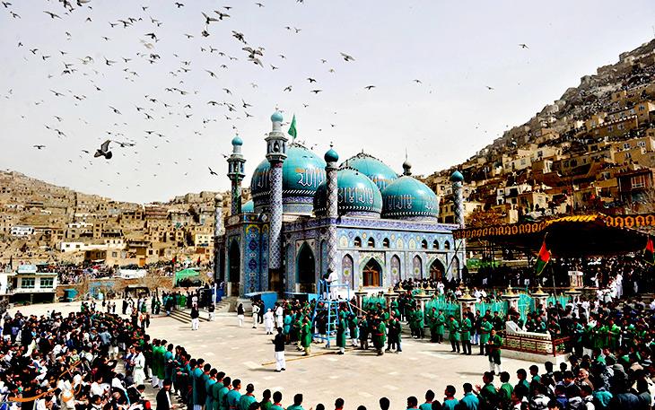 مسیرهای زمینی به افغانستان