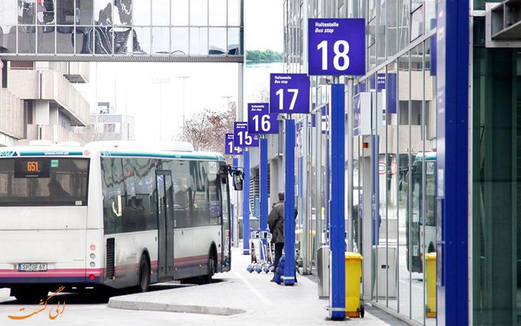 اتوبوس ایرلاینر فرودگاه فرانکفورت