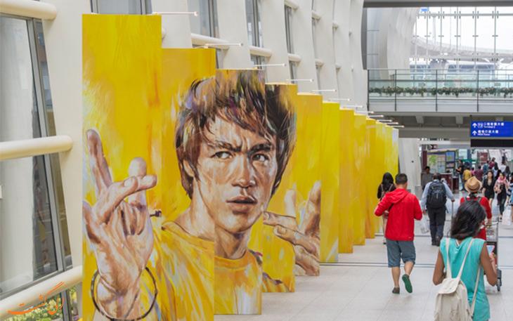 آثار هنری فرودگاه هنگ کنگ