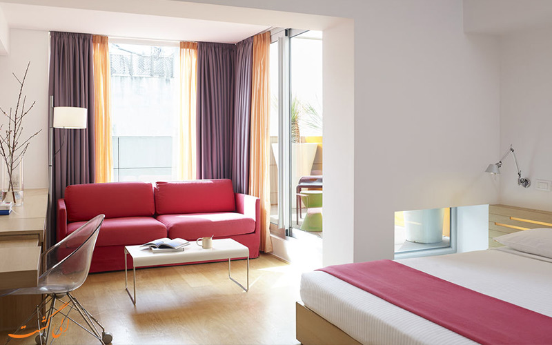 امکانات اتاق های هتل فرش آتن