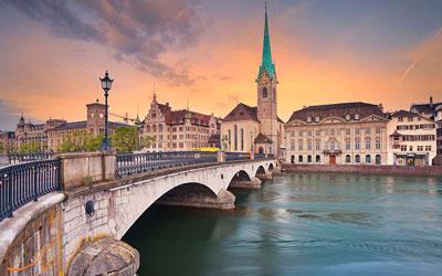 شهر زوریخ سوئیس