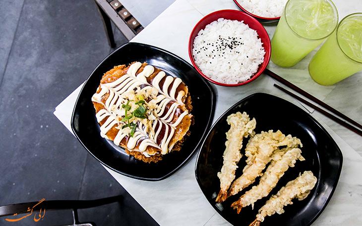 هزینه خورد و خوراک در توکیو