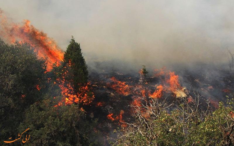 آتش در گیلان