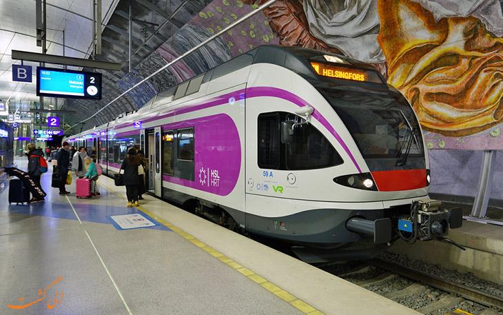قطار هلسینکی