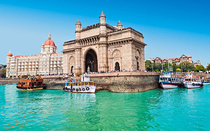 جاذبه های شهر بمبئی هند