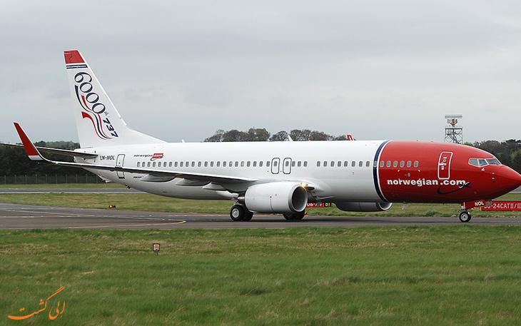 استفاده نروژ از هواپیمای برقی