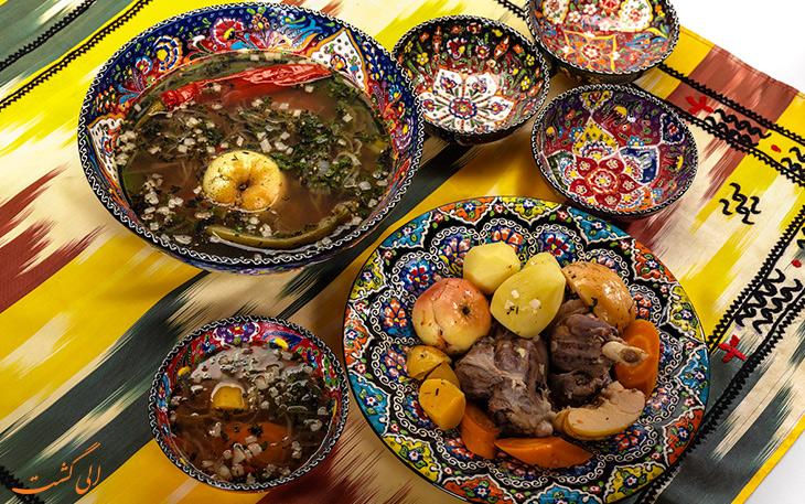 هزینه خورد و خوراک در شهر آلماتی