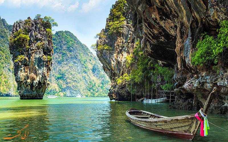 خلیج فانگ نگا جزیره فوق العاده در پوکت