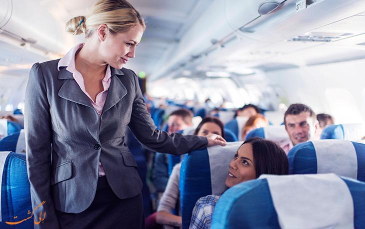 قوانین اخراج شدن از هواپیما