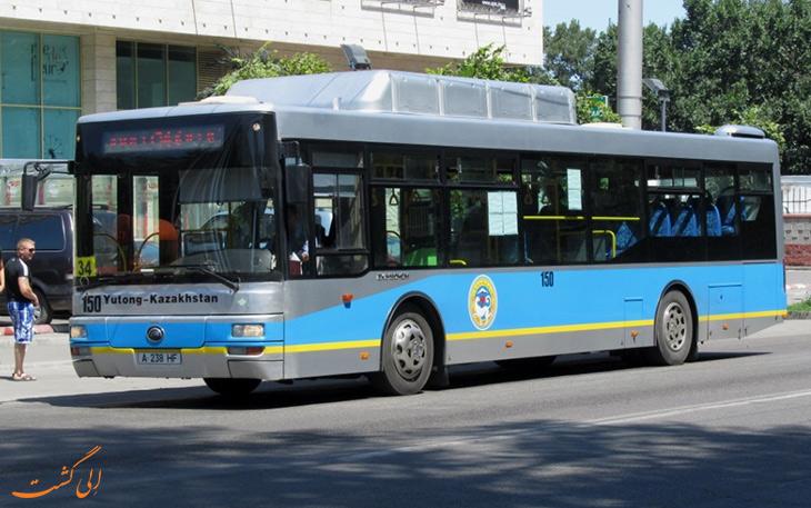 هزینه حمل و نقل در شهر آلماتی