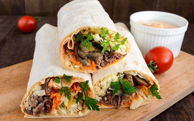 بهترین رستوران های دبی برای خرودن شاورما