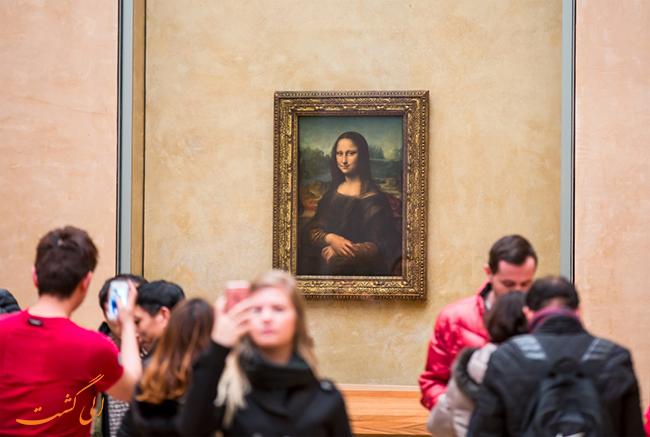 نقاشی مونالیزا در موزه لوور