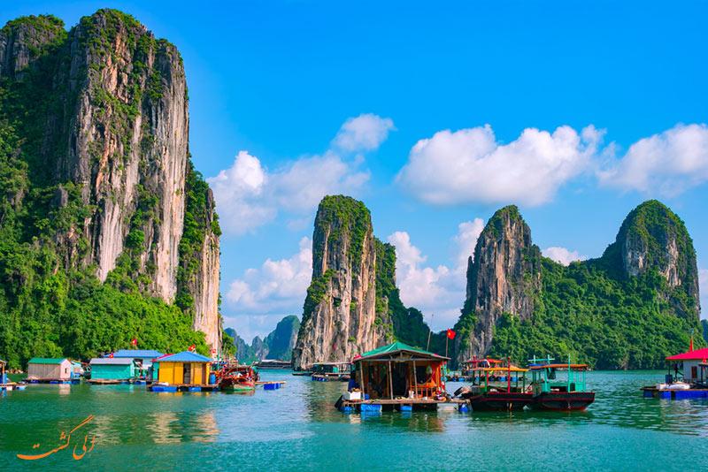 سفر به خلیج هالونگ در ویتنام