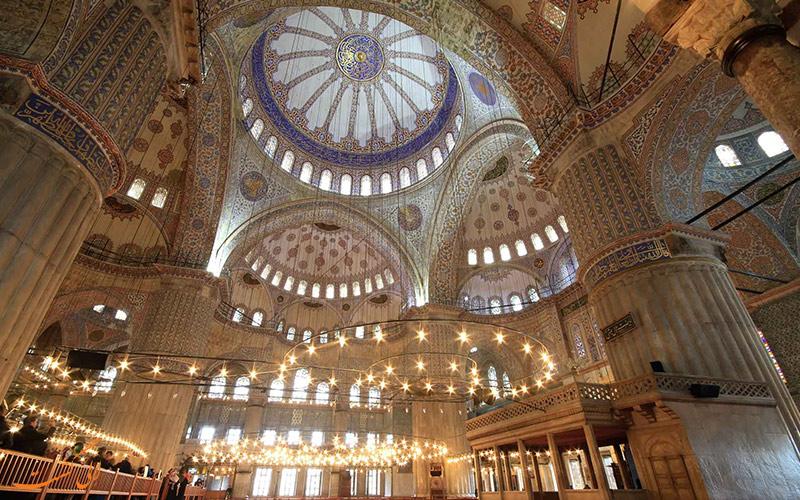 معماری داخلی مسجد