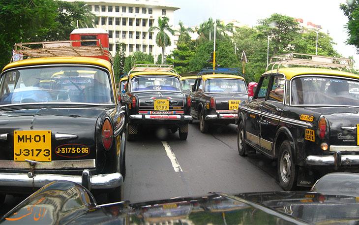 تاکسی فرودگاه بمبئی
