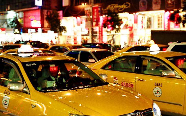 تاکسی در حمل و نقل فرودگاه تائویوان تایوان