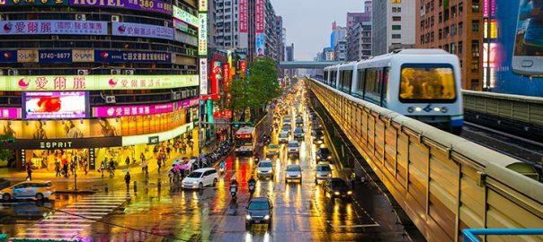 حمل و نقل فرودگاه تائویوان تایوان