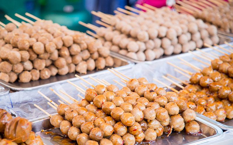 غذاهای خیابانی تایلند