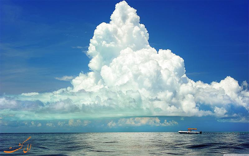 ابرهای کومولوس- پیش بینی وضع هوا در سفر