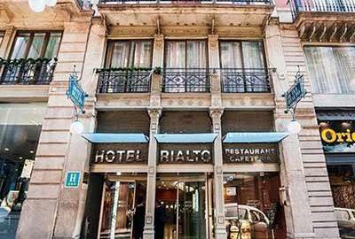 هتل گارگالو ریالتو بارسلونا   Hotel Gargallo Rialto - الی گشت