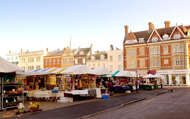 مراکز خرید در شهر کمبریج