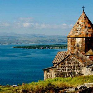 دریاچه سوان در ارمنستان