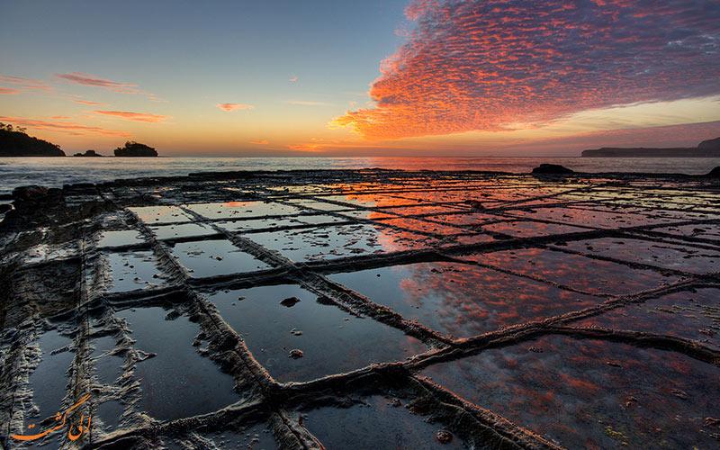 سنگفرش موزاییکی تاسمان