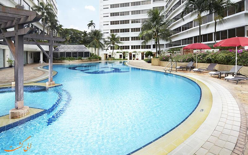 هتل فوراما ریور فرونت سنگاپور | استخر