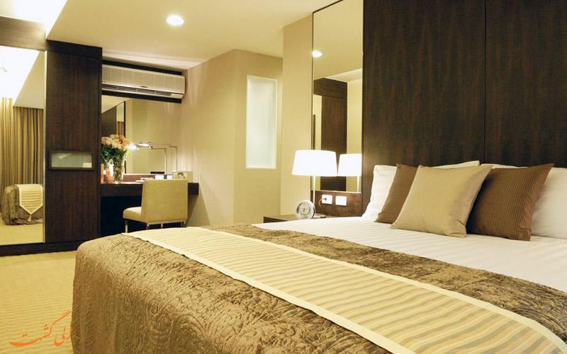 هتل اچ رزیدنس بانکوک | اتاق دبل