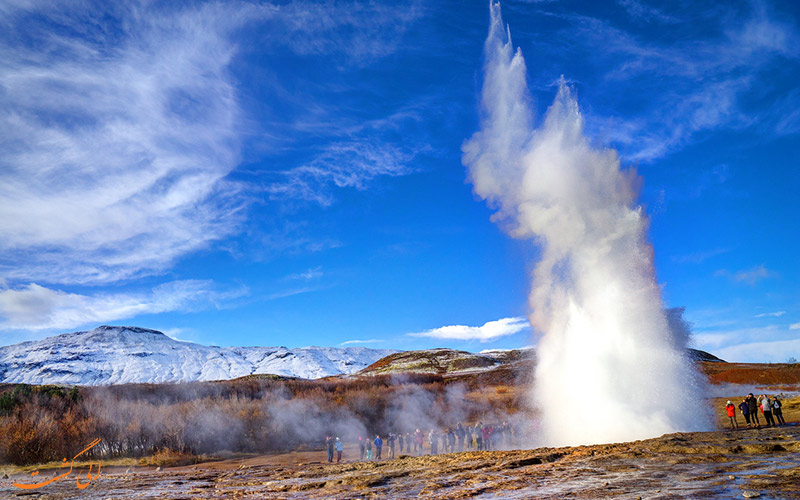 چشمه های آب گرم منطقه گیسیر