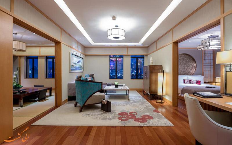 هتل فرمونت پیس شانگهای   سوئیت