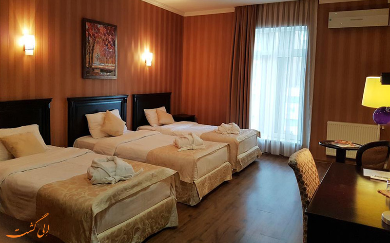 هتل گاردن ویو بوتیک تفلیس   اتاق تریپل