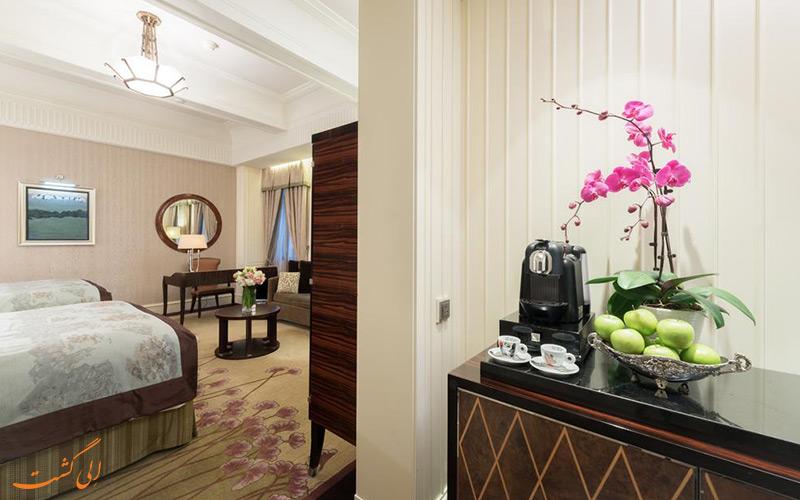 هتل فرمونت پیس شانگهای   نمونه سوئیت