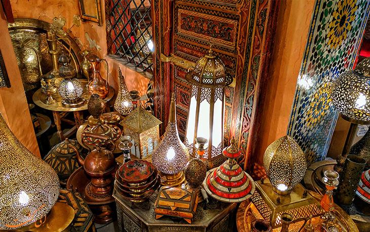فانوس و لوسترهای مراکشی