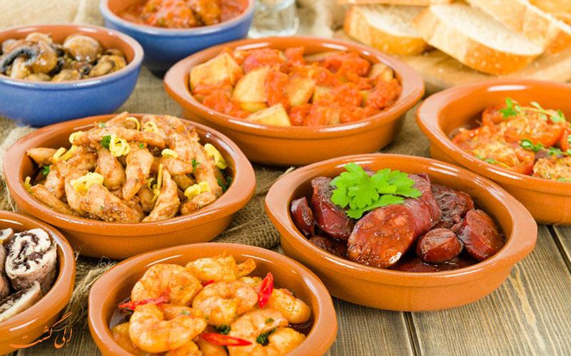 غذاهای بارسلونا