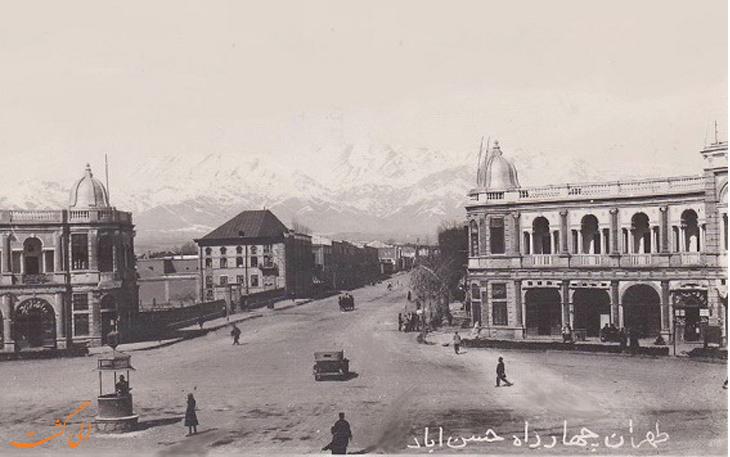 میدان حسن آباد دهه30