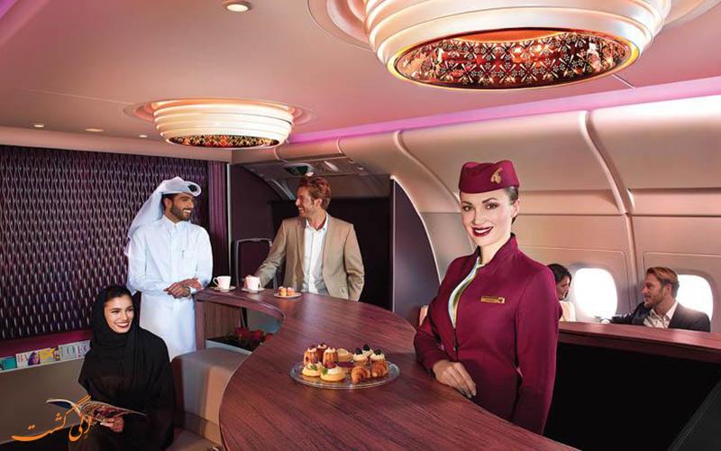 معرفی پرواز فرست کلاس شرکت هواپیمایی قطر ایرویز