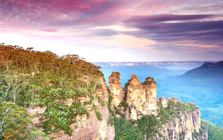 کوهستانهای آبی استرالیا