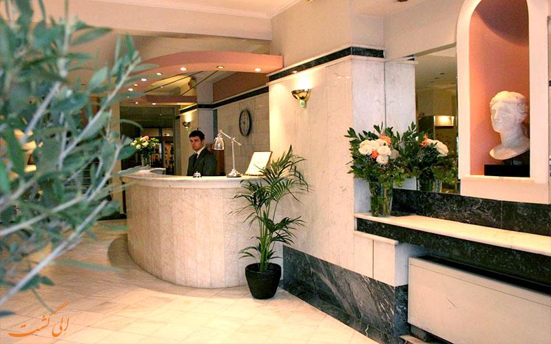 هتل آچیلیون آتن- پذیرش هتل