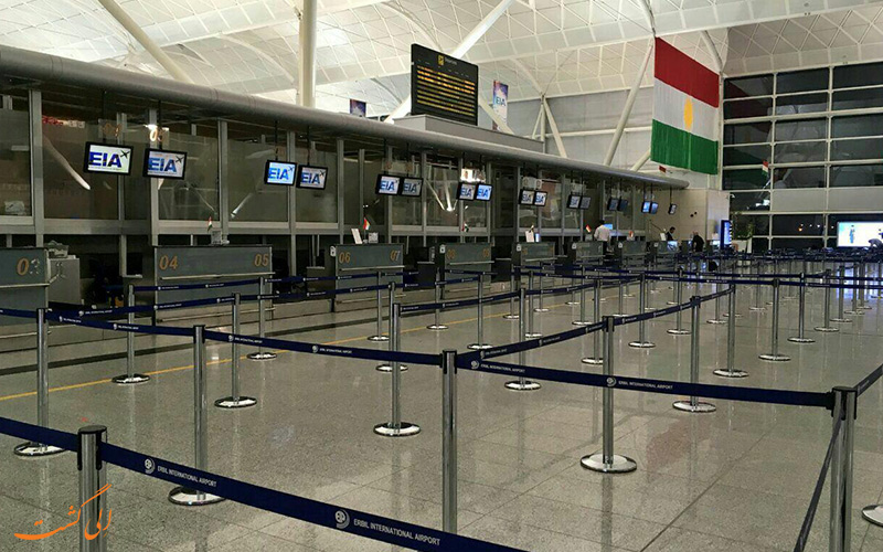پرواز تهران به اربیل عراق