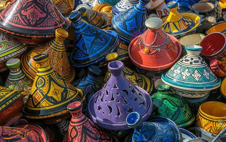 ظروف سنتی طاجین