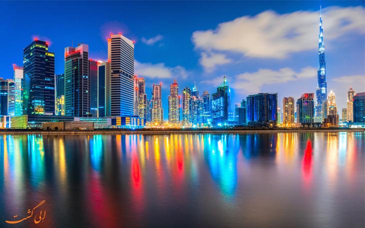 برج های دبی